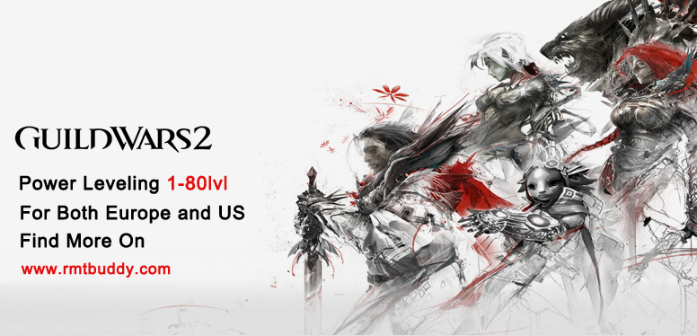 Guild Wars 2 Power Leveling on http://rmtbuddy.com/guild-wars-2-gold-us-powerleveling.html